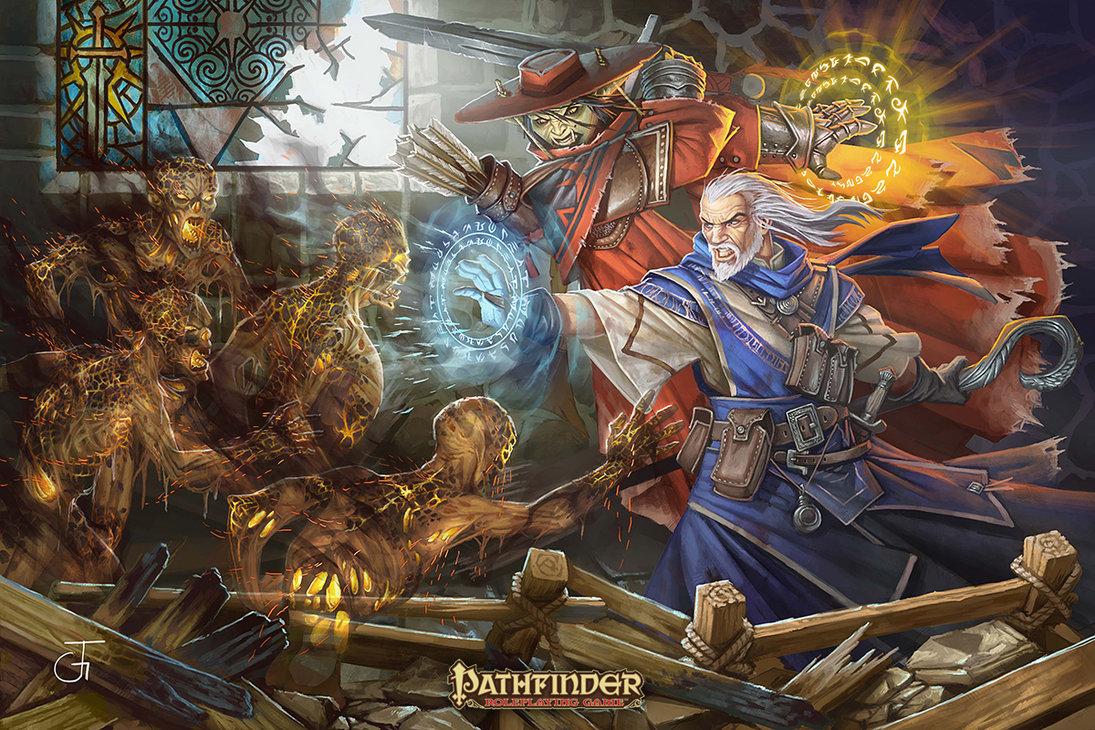 PATHFINDER PAIZO RPG by LJEKC 1095x730
