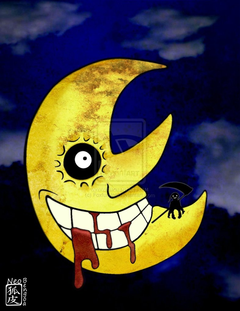 43 Soul Eater Moon Wallpaper On Wallpapersafari