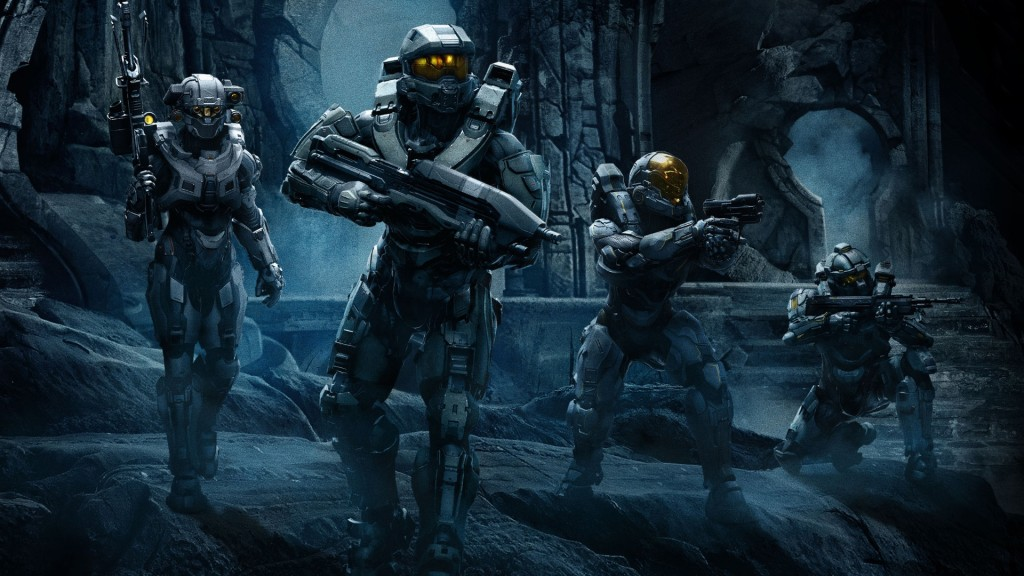 Download Halo 5 Guardians Team Game HD Wallpaper Search more Games 1024x576