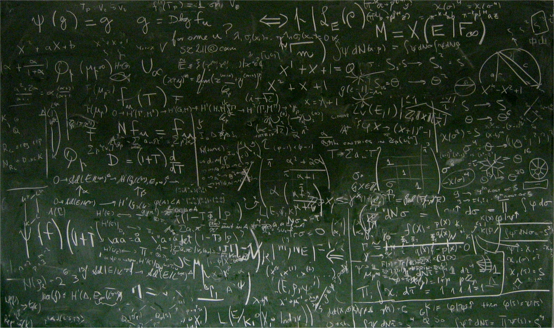 Chalkboards Wallpaper 1835x1087 Mathematics Chalkboards Equation 1835x1087