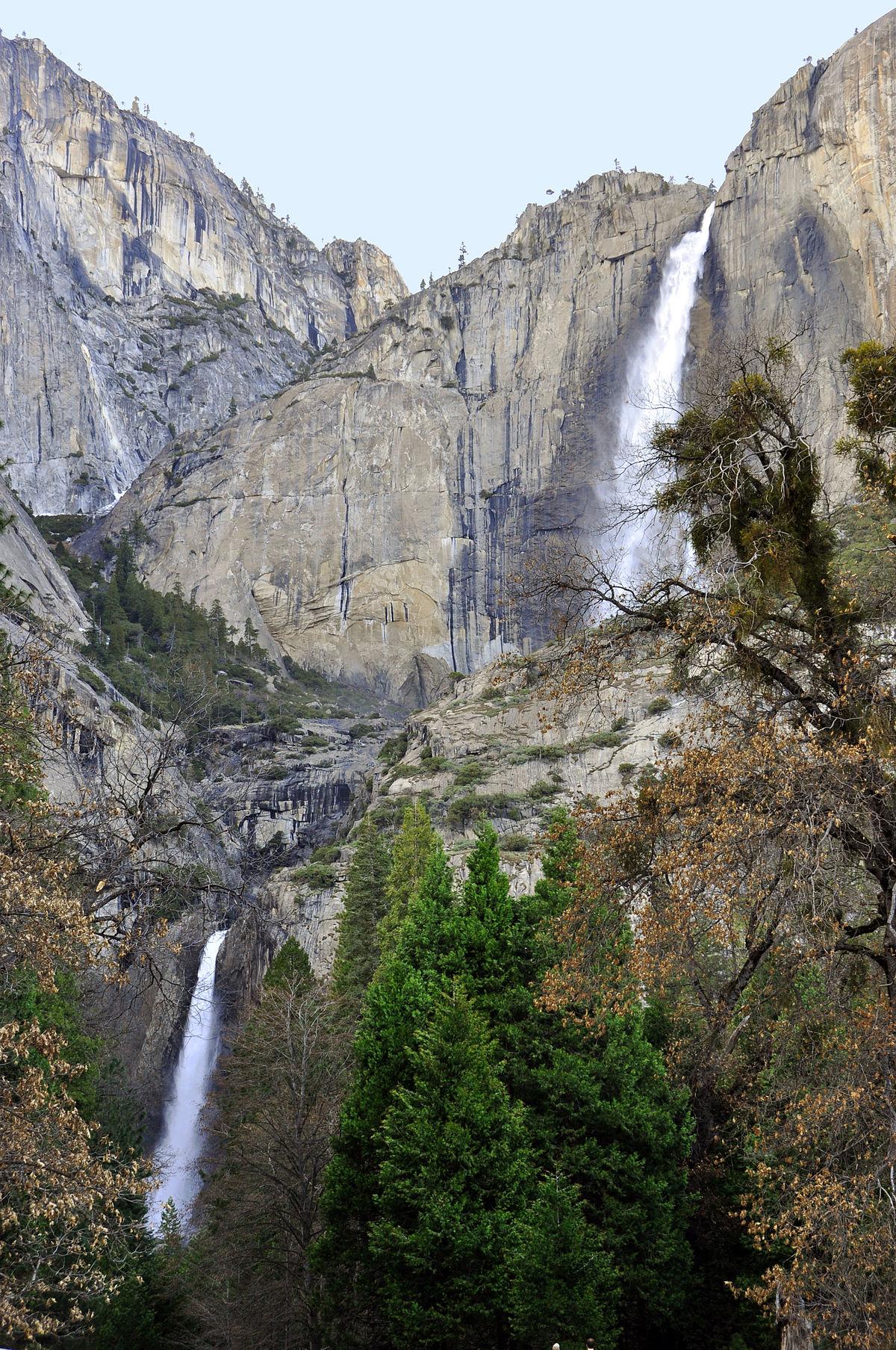 Yosemite Falls   Wikipedia 1200x1807