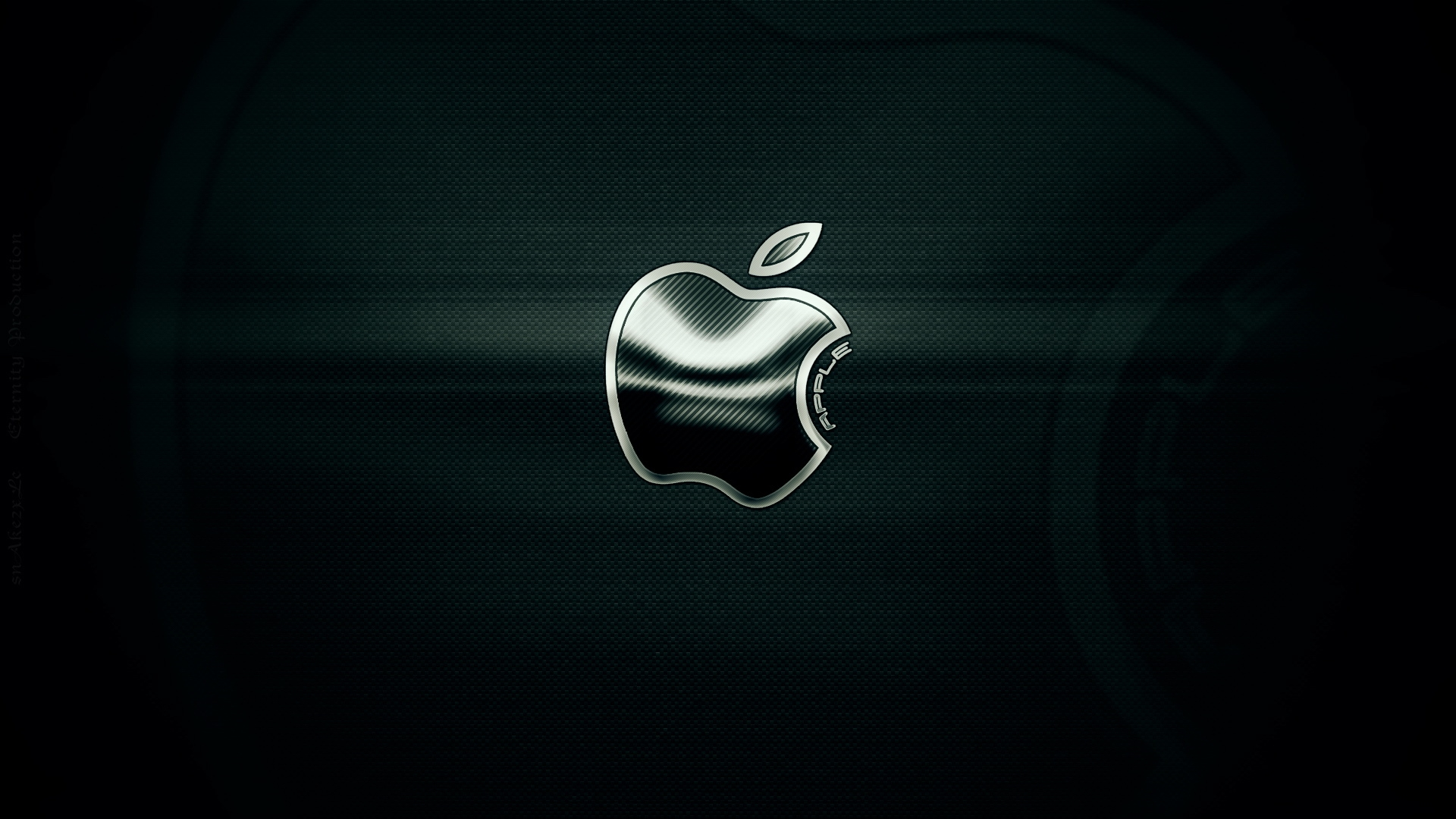 metal apple wallpaper - wallpapersafari