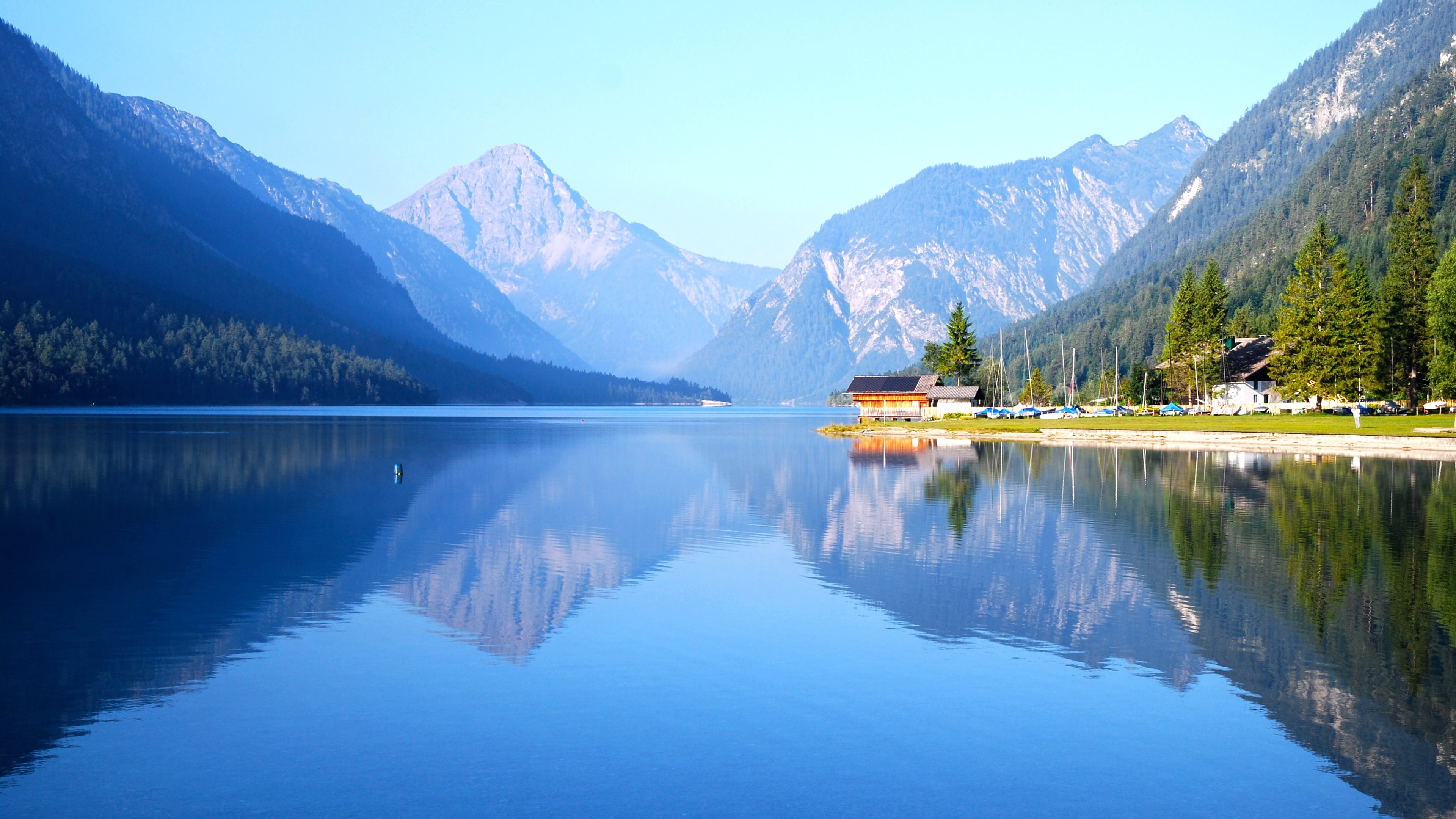 Plansee Lake Wallpapers HD Wallpapers 3840x2160