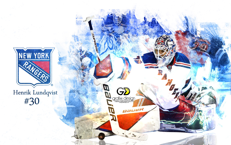 New York Rangers Henrik Lundqvist Wallpapers HD Wallpapers High 3000x1879