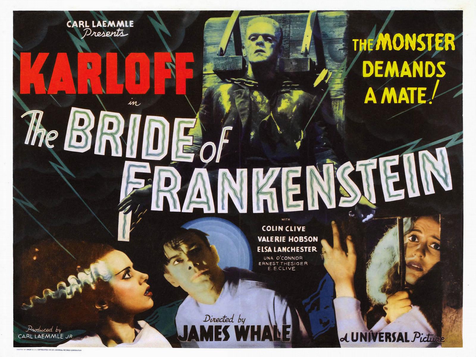 1600x1200 The Bride of Frankenstein desktop PC and Mac wallpaper 1600x1200