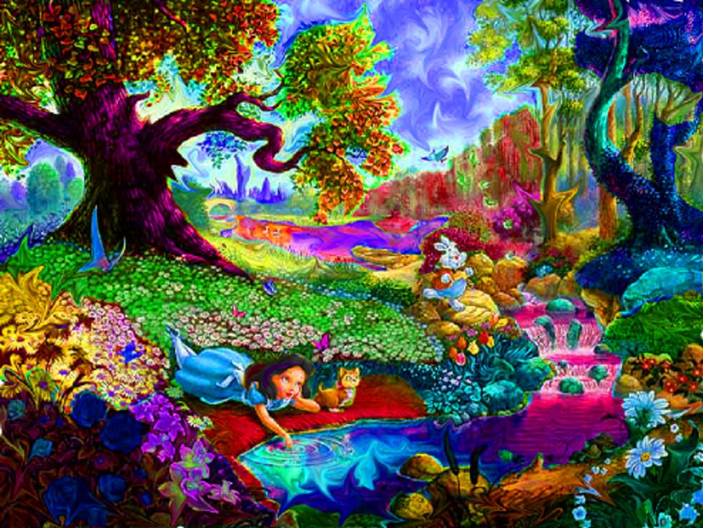 Trippy Wallpaper Art Download Wallpaper DaWallpaperz 1024x769