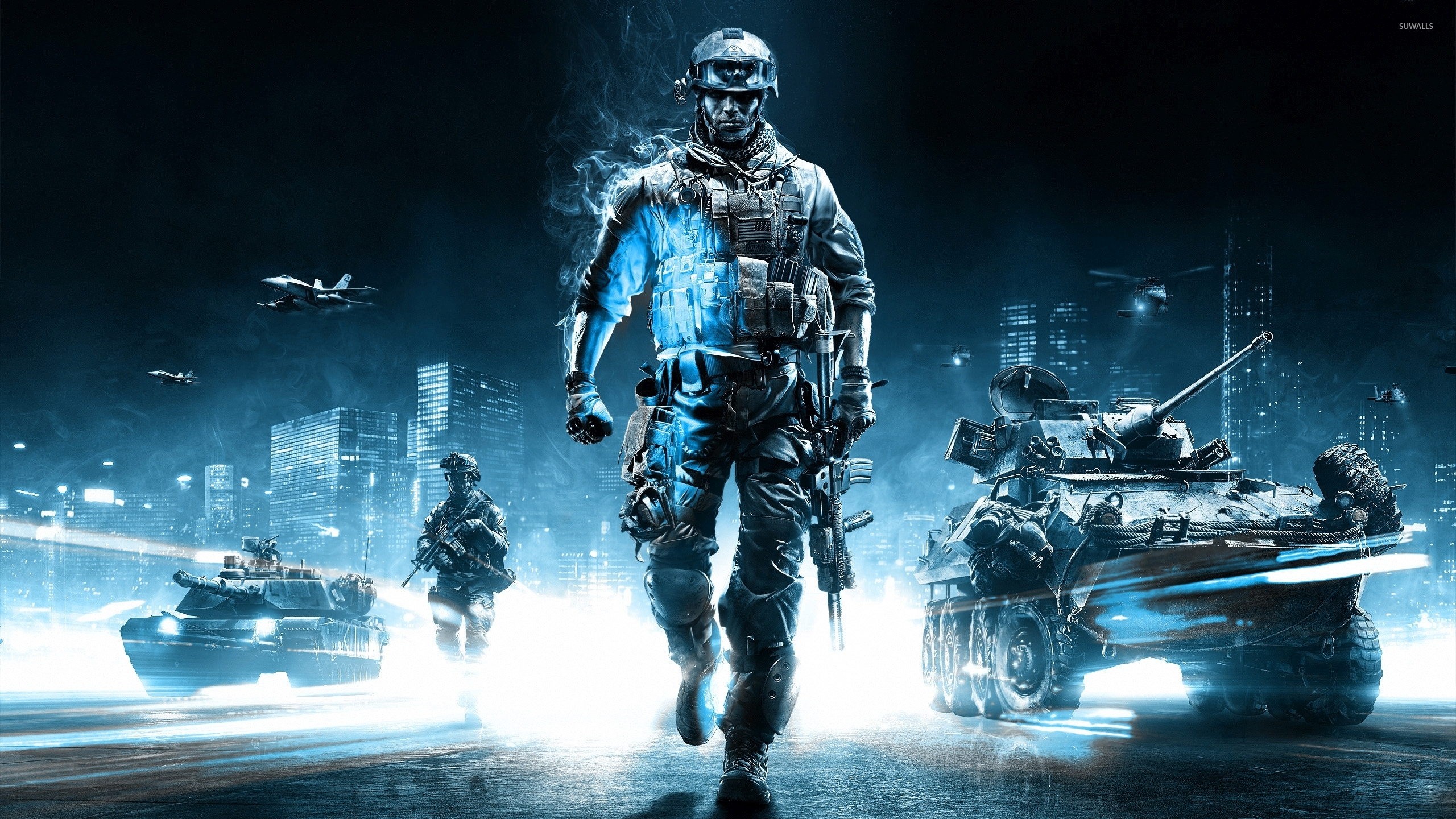 46 battlefield 4 wallpaper 2560x1440 on wallpapersafari - Battlefield screensaver ...