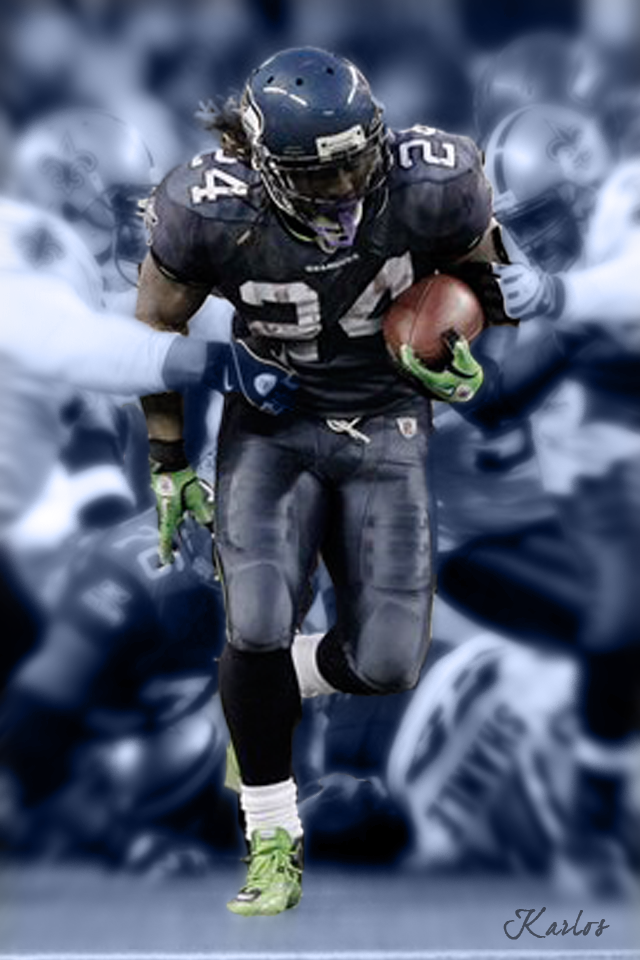 Marshawn Lynch Seahawks Wallpaper Bigking Keywords And Pictures