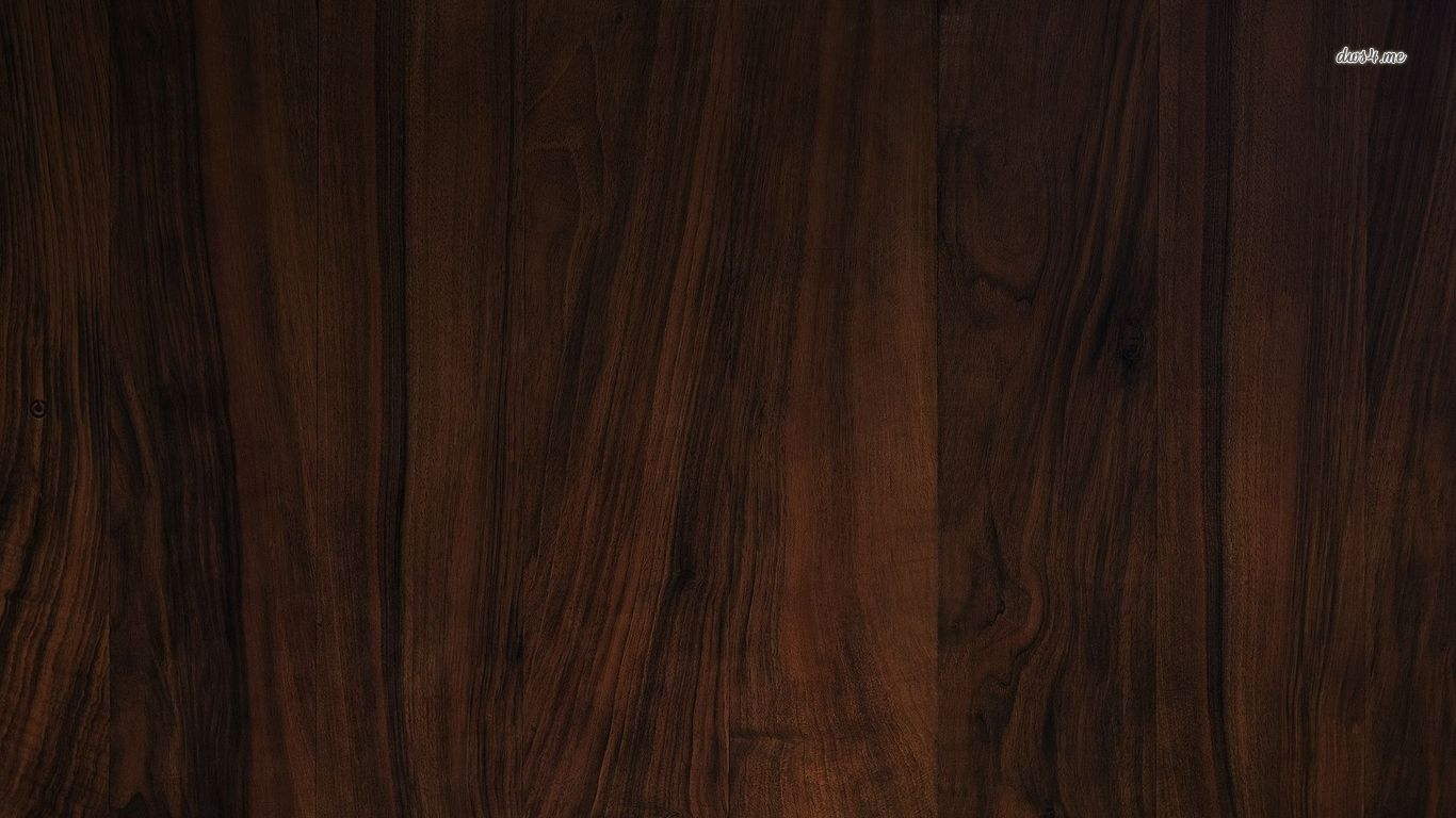 Dark Wood Floor Wallpaper