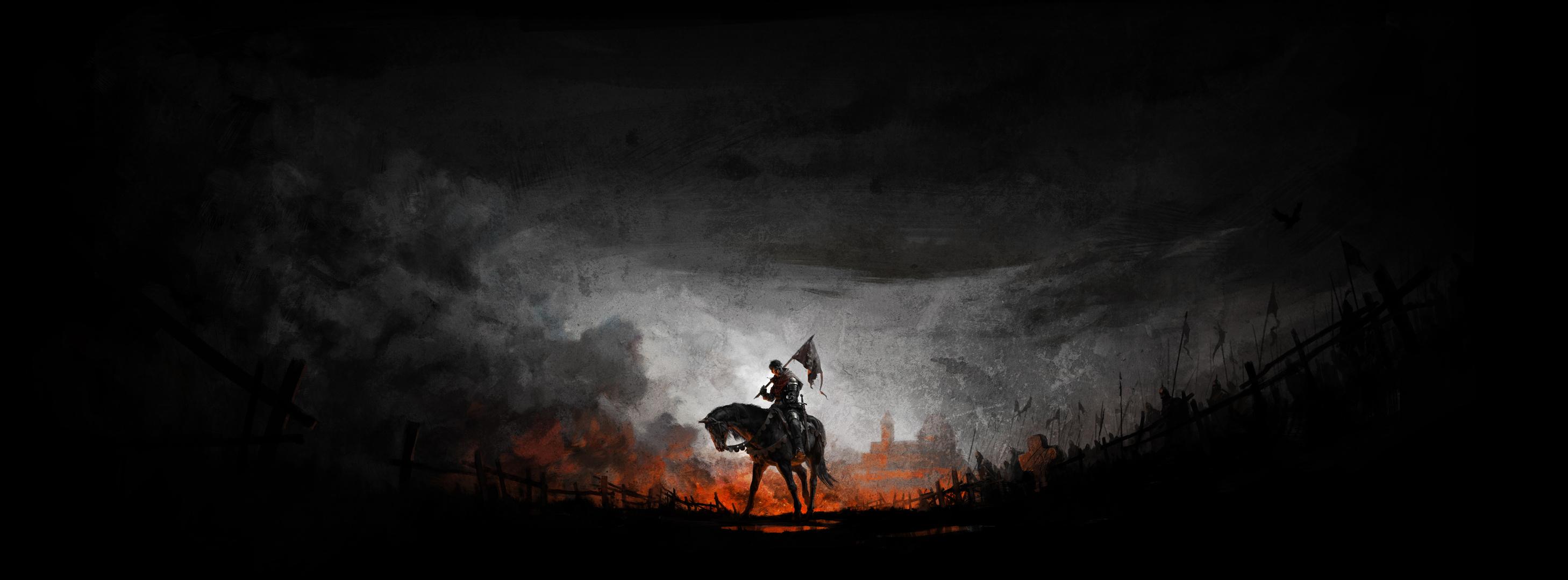 Kingdom Come Deliverance HD Wallpaper Background Image 2916x1080