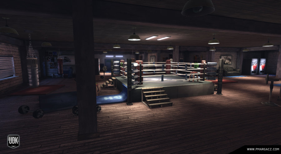 empty boxing gym - photo #22