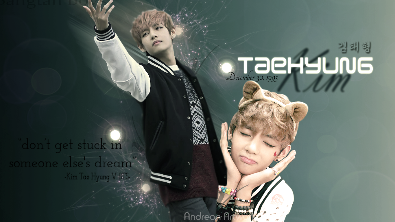 View source image Cute wallpapers for ipad Taehyung Bts laptop 1366x768