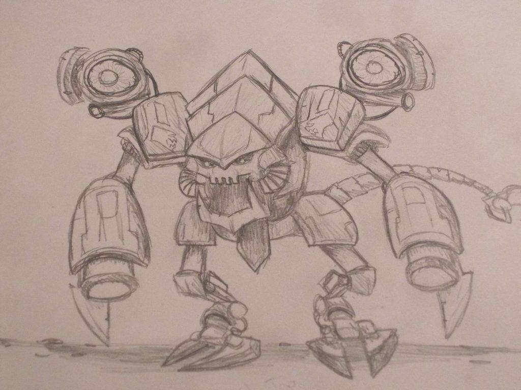 Battlecast Prime ChoGath by DaSaurian 1024x768