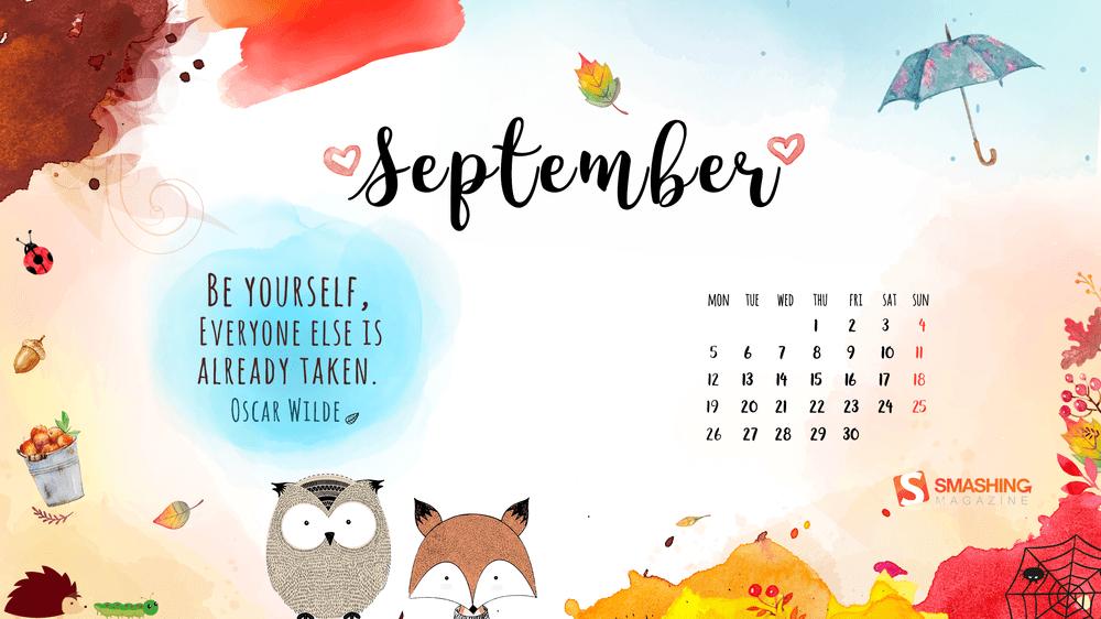 Download Smashing Magazine Desktop Wallpaper Calendar September 1000x562