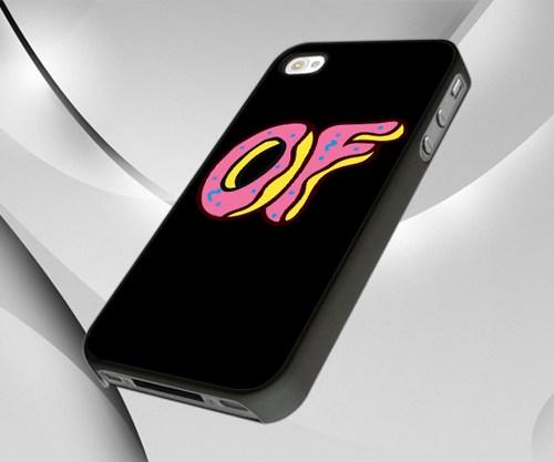 Odd Future OFWGKTA Doughnut Wolf Gang Donut   iPhone 44S case 500x417