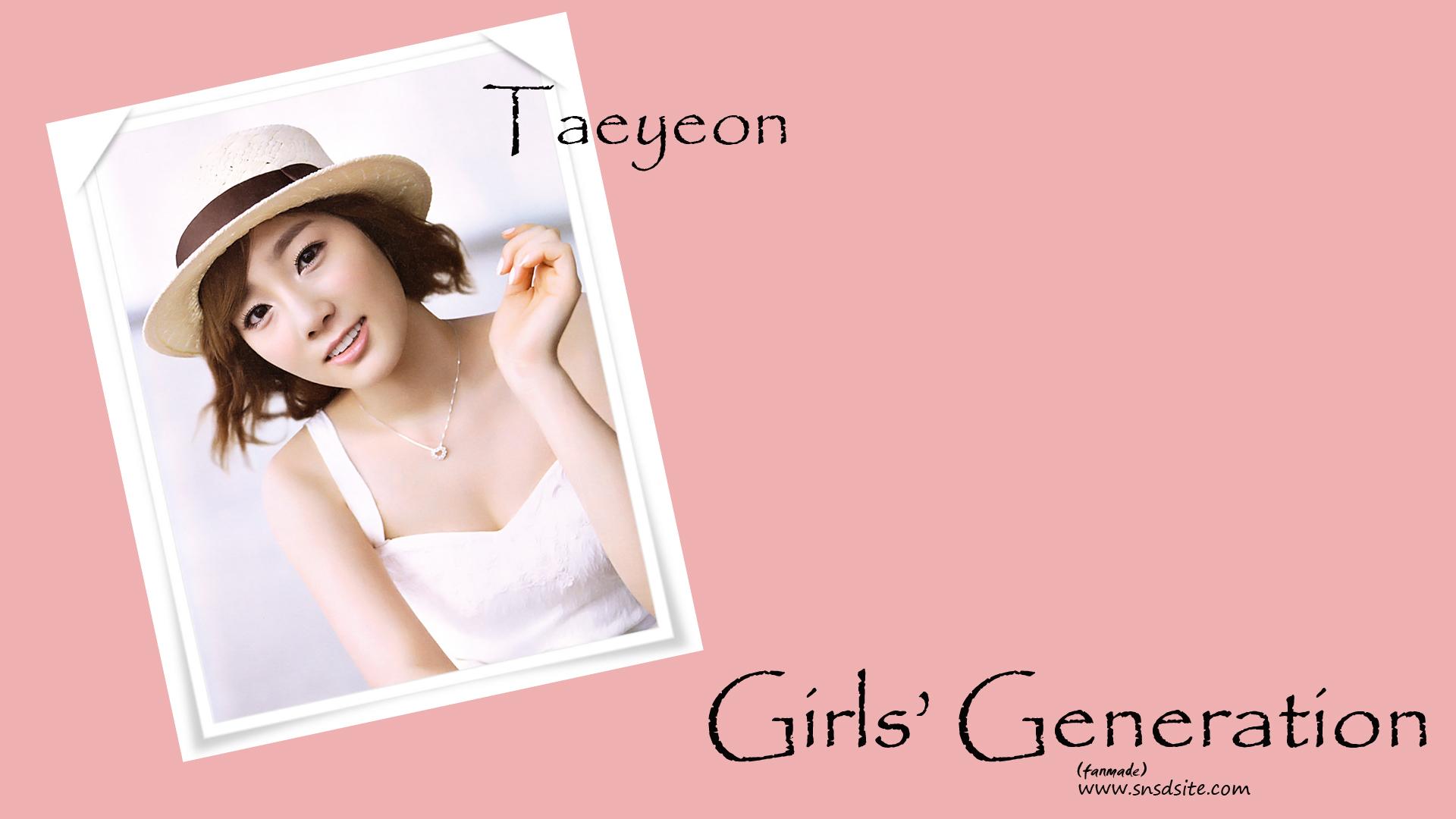 TAEYEON   Taeyeon SNSD Wallpaper 29115229 1920x1080