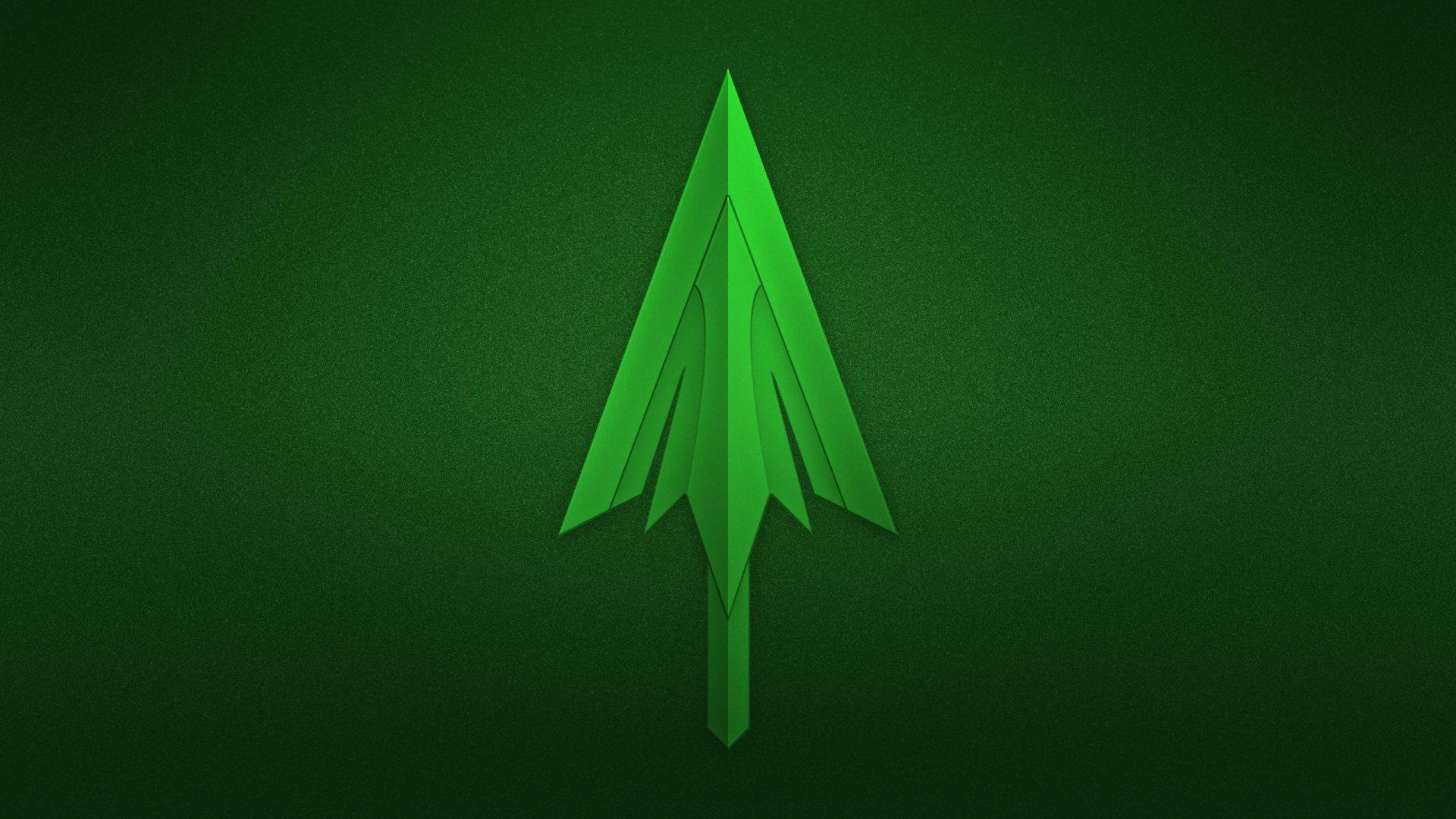 Green Arrow Logo Wallpaper 1920x1080