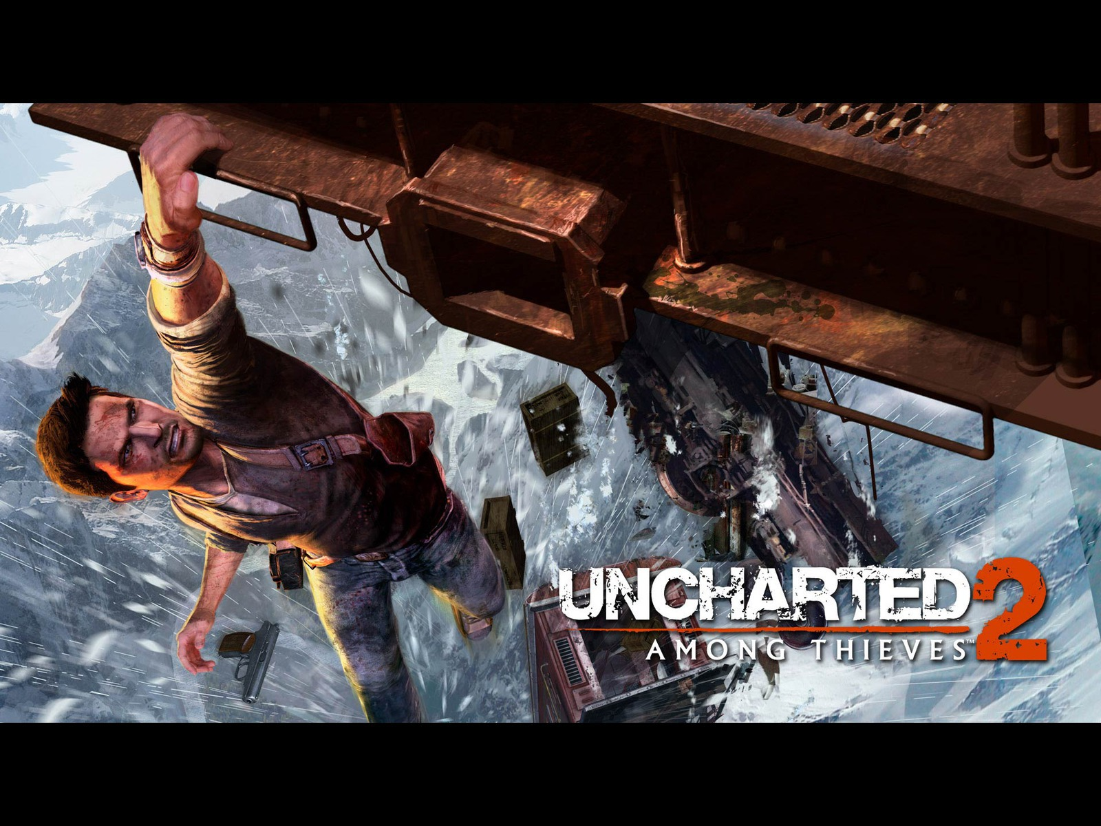Uncharted 2  Uncharted 2 Among Thieves Wallpaper Gallery   Best 1600x1200