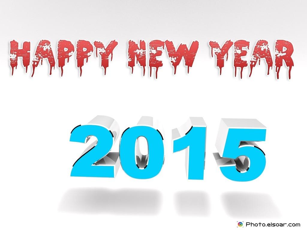 Happy New Year 2015 Background 1024x768