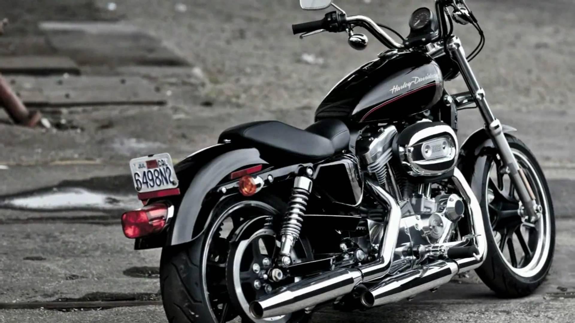 Harley Davidson Xl883 Superlow 1080P Hd Wallpapers 1920x1080