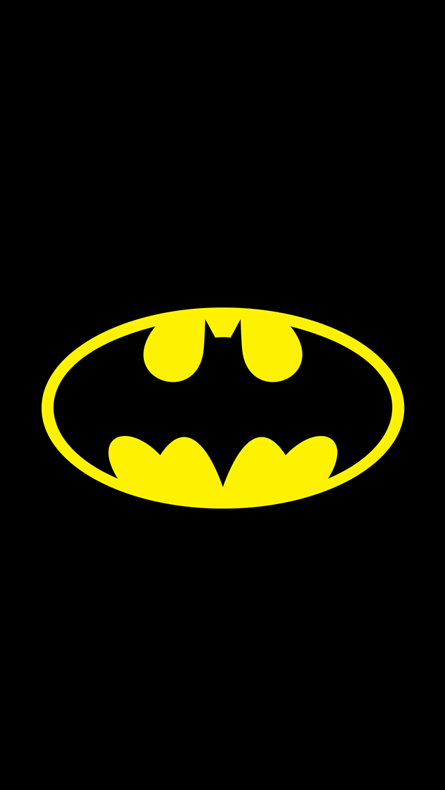 Back Gallery For batman logo wallpaper for iphone 640x1136