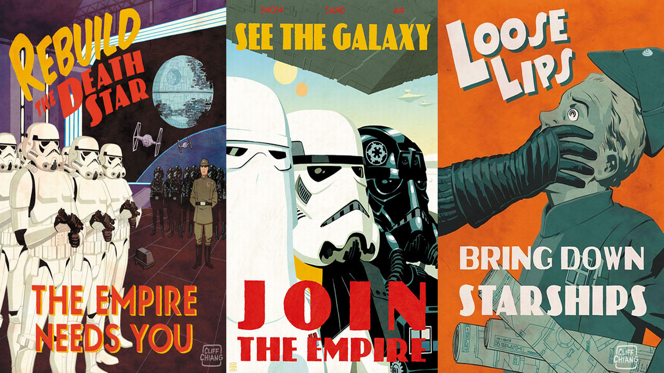 48 Star Wars Propaganda Wallpaper On Wallpapersafari