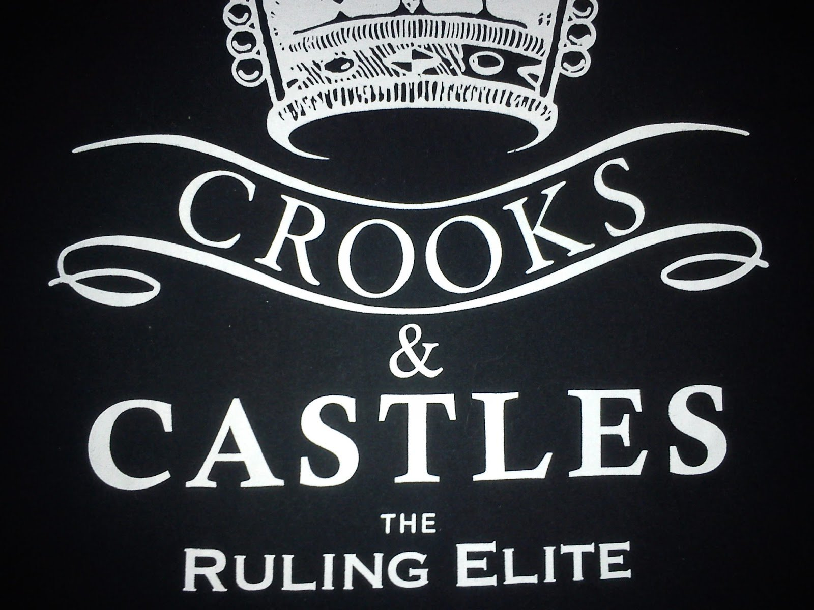Crooks And Castles Wallpaper Crooks and castles t shirt 1600x1200