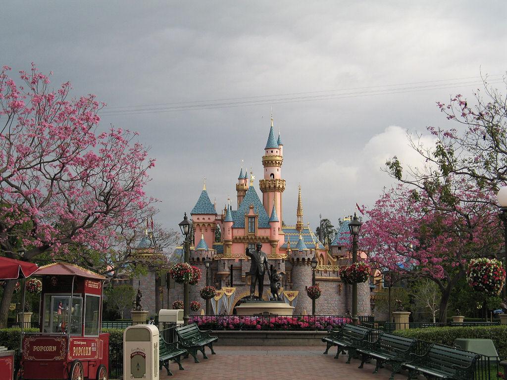 Disneyland Christmas Lights