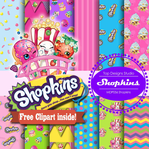 Shopkins Wallpaper Free Wallpapersafari