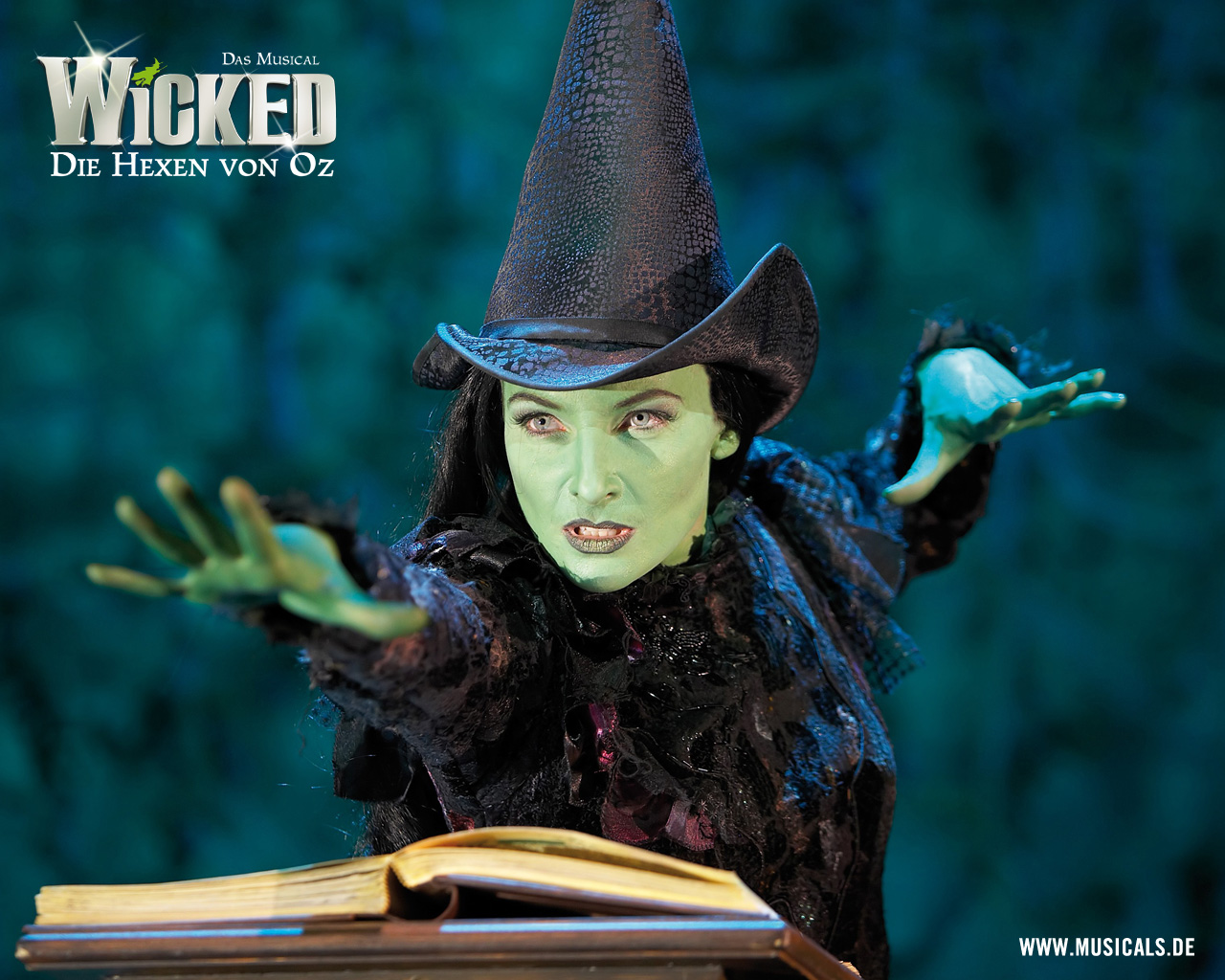 wicked musical wallpaper desktop wallpapersafari
