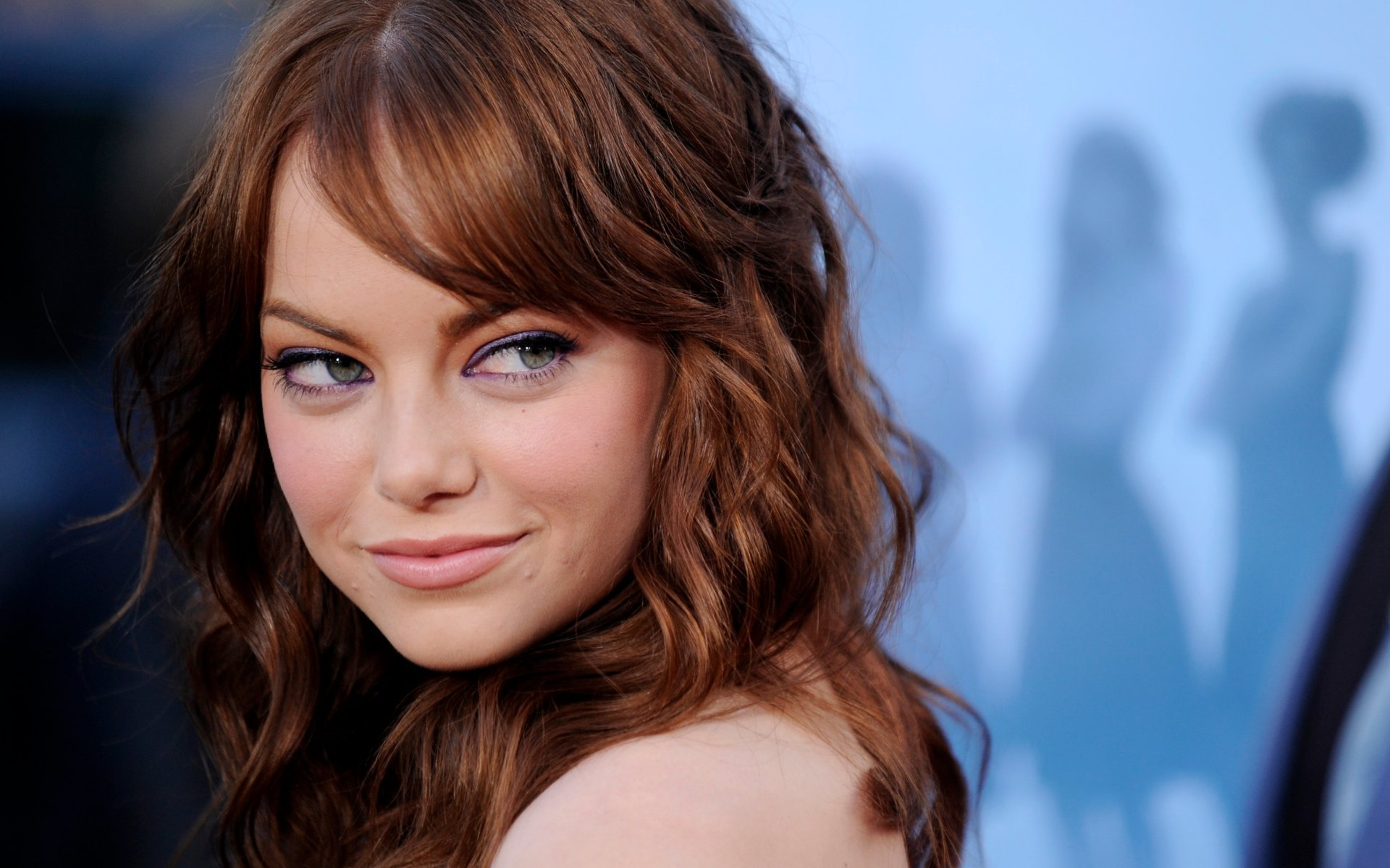 Emma Stone Emma Stone Widescreen Wallpaper 1920x1200