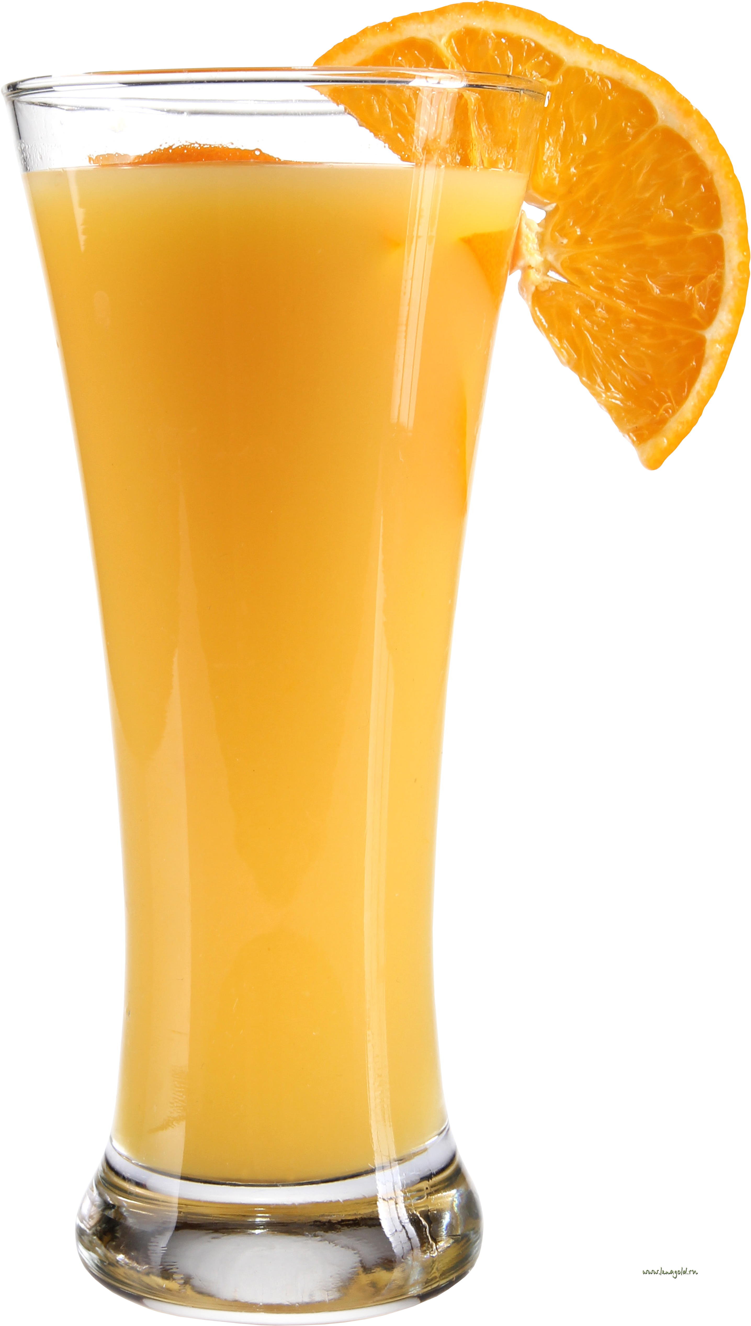 Download wallpaper glass with orange orange juice photo 2871x5071