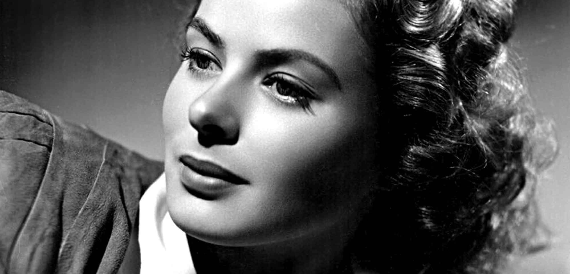 Ingrid Bergman HD Desktop Wallpapers 7wallpapersnet 2000x962