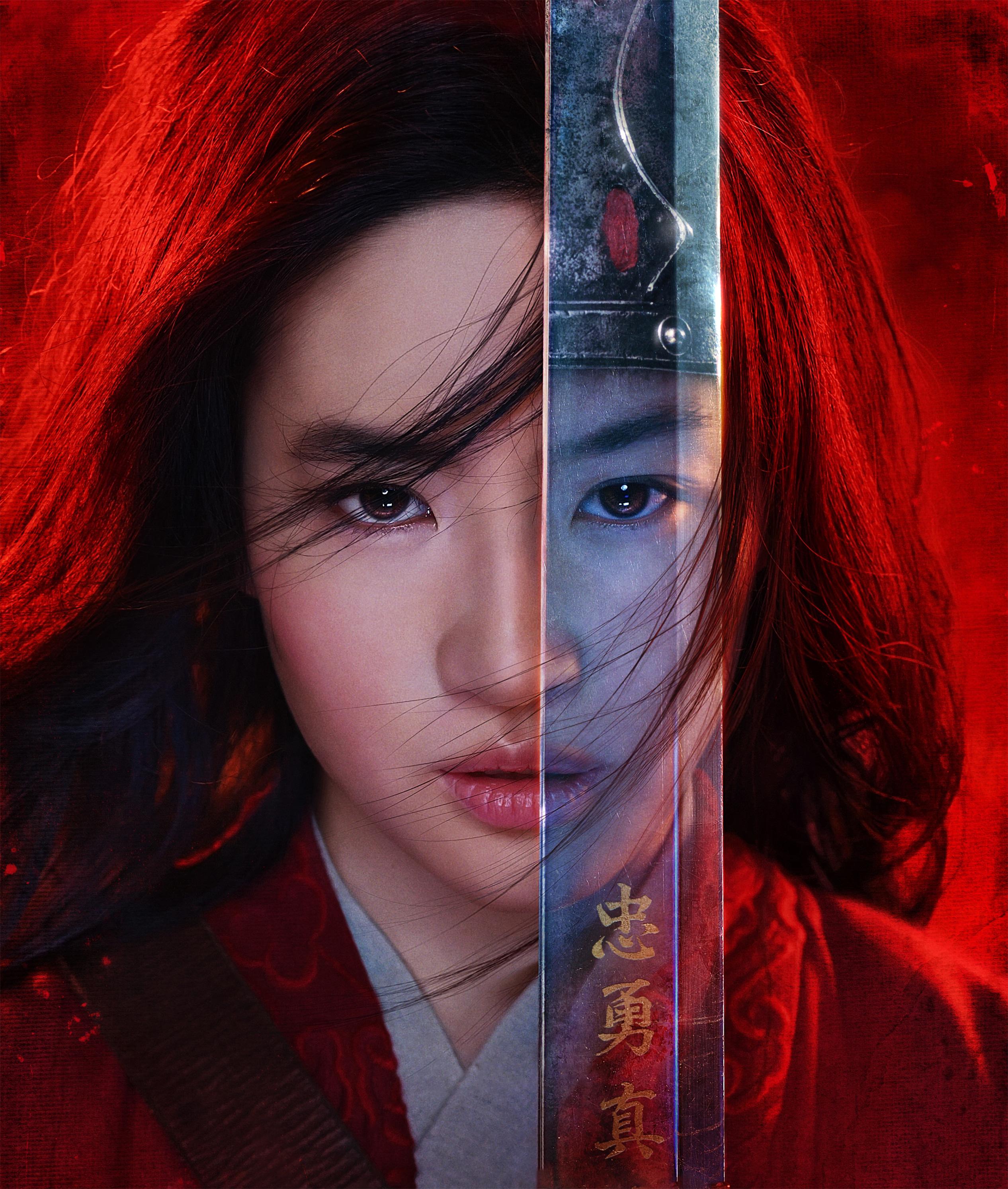 Mulan 2020 Movie Poster Wallpaper HD Movies 4K Wallpapers Images 2532x2987