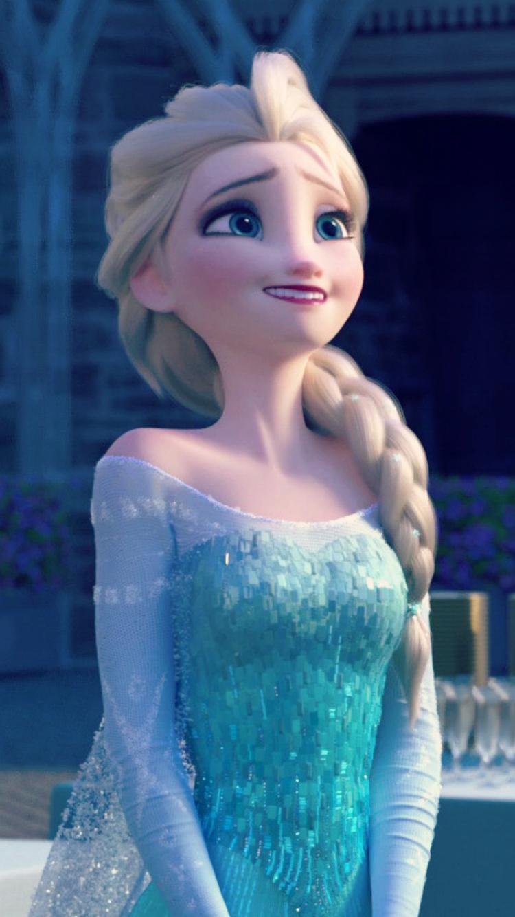 Frozen Fever Elsa Phone Wallpaper   Frozen Fever Photo 39332058 750x1334