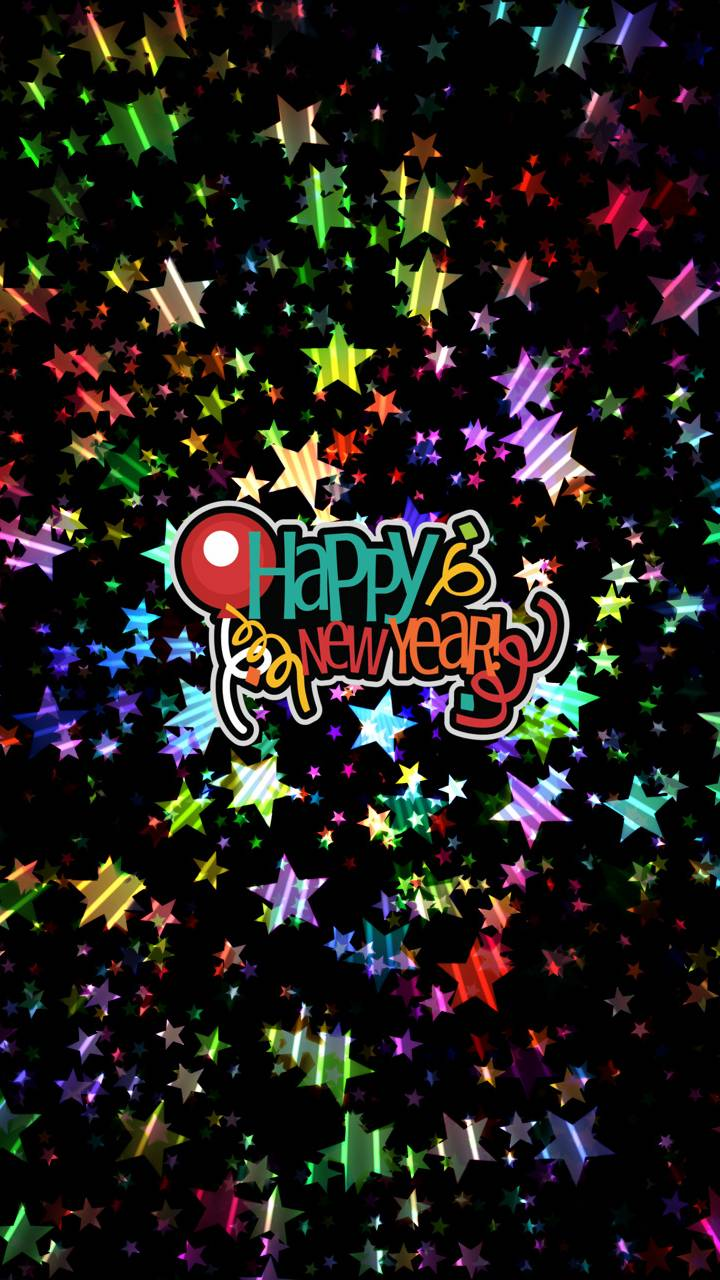 Happy New Year iPhone Wallpapers 720x1280