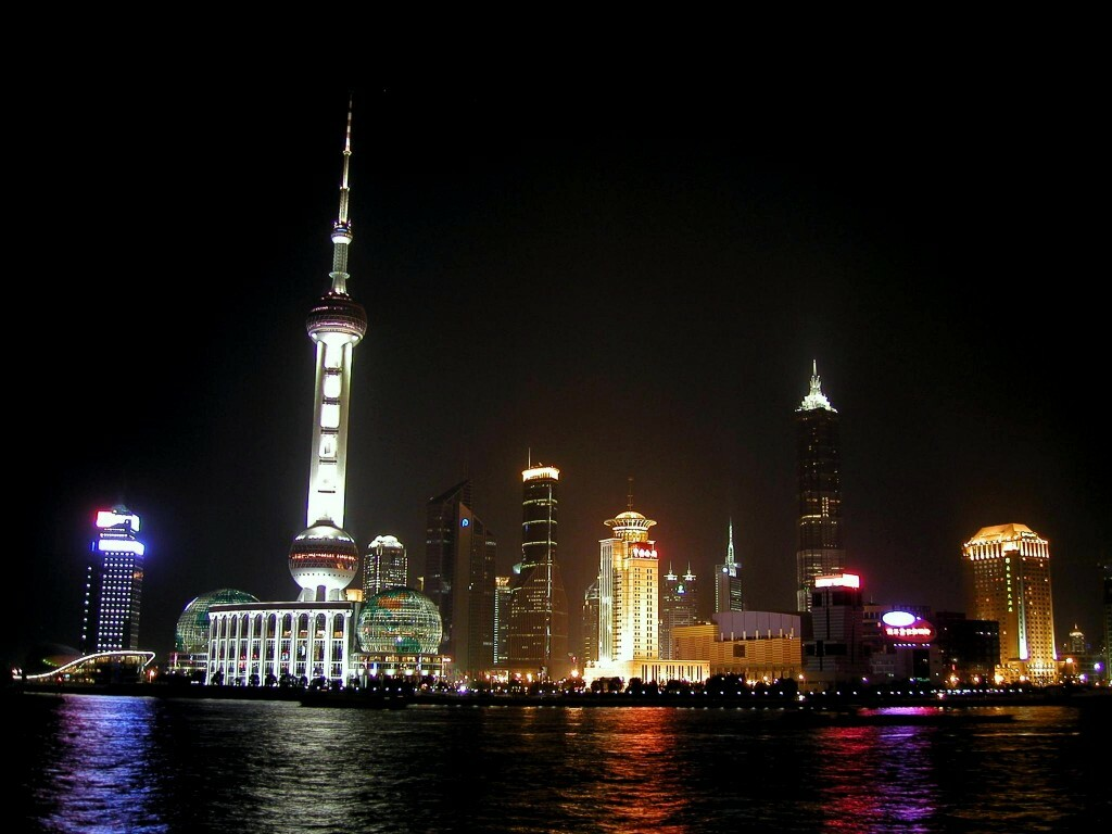 Best Beautiful Wallpaper shanghai skyline all type hd wallpapers for 1024x768