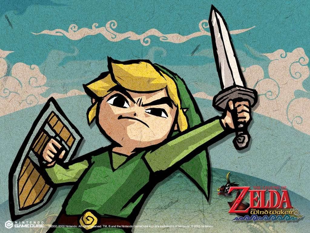 Zelda The Wind Waker   Official Wallpapers Desktops Backgrounds 1024x768