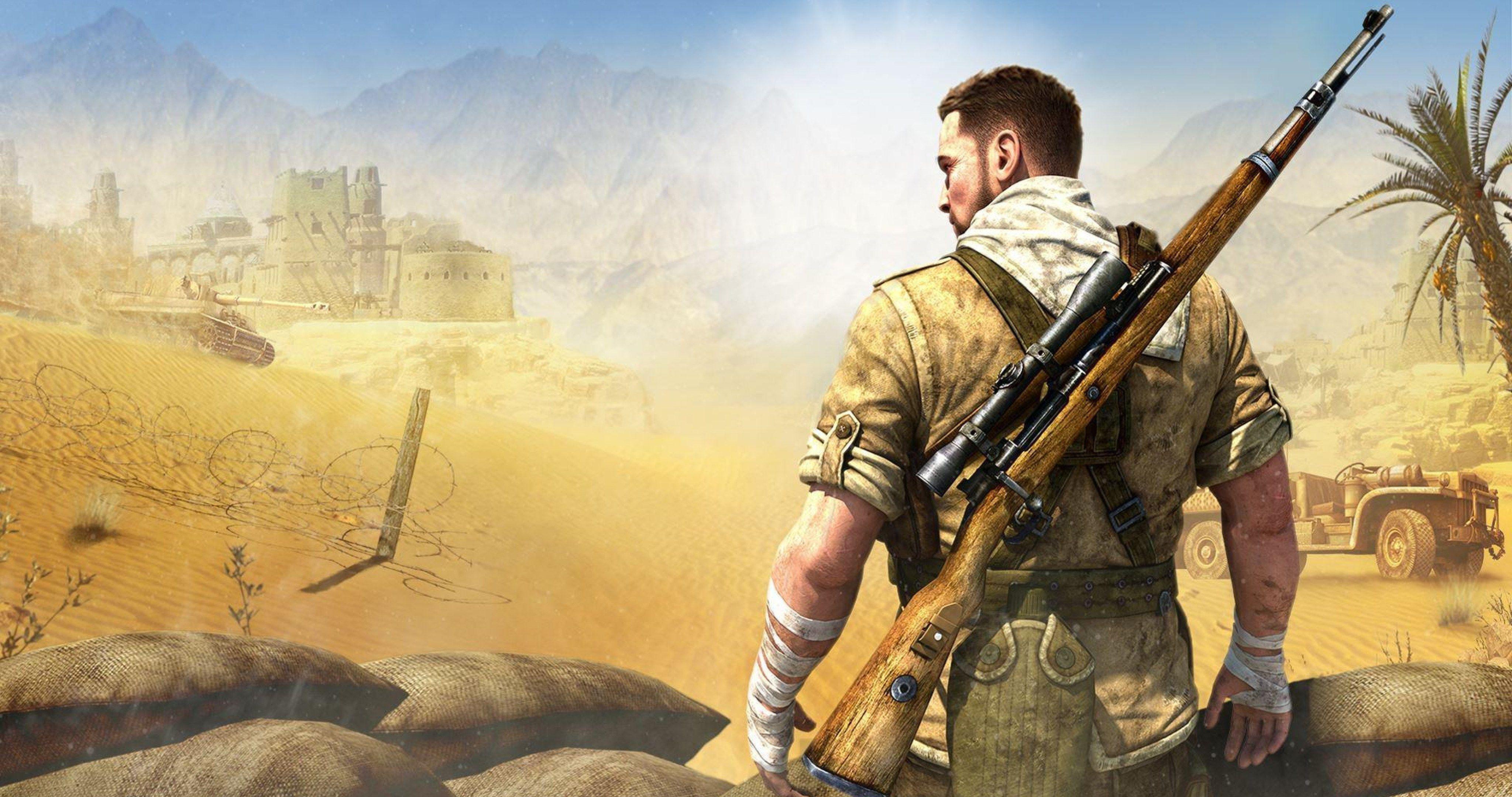sniper elite 3 video game 4k ultra hd wallpaper ololoshenka 4096x2160