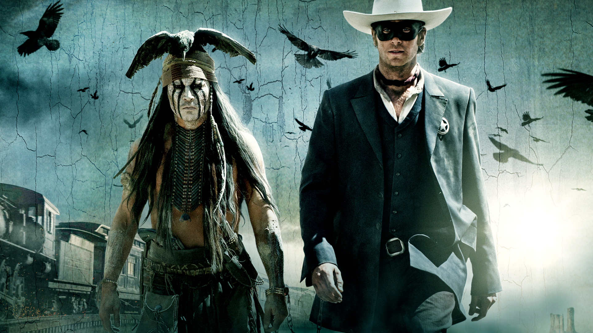 THE LONE RANGER western d wallpaper background 1920x1080