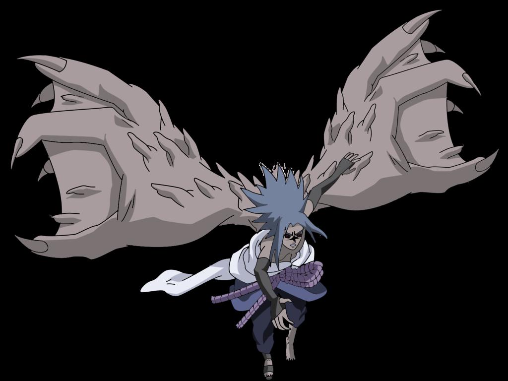 Sasuke Curse Seal 2 Render by lwisf3rxd 1024x768