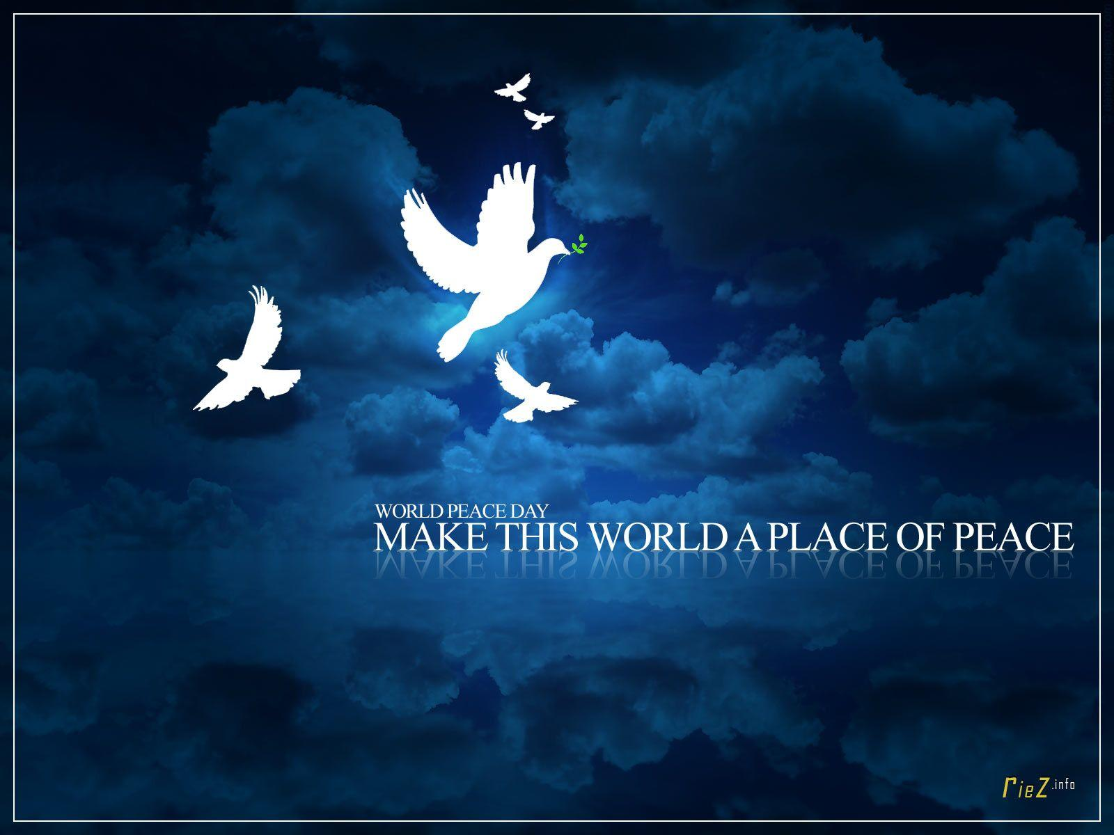 World Peace Wallpapers 1600x1200
