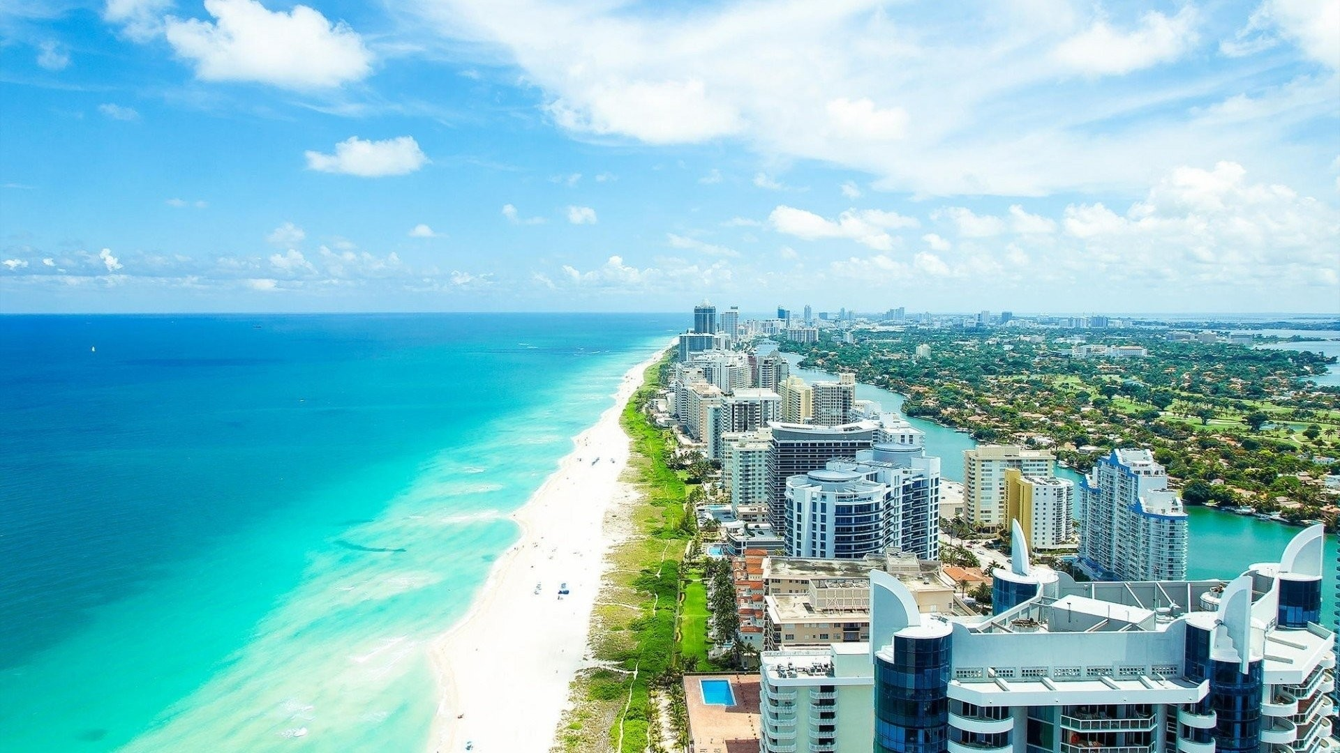 65 Miami Beach Wallpapers on WallpaperPlay 1920x1080