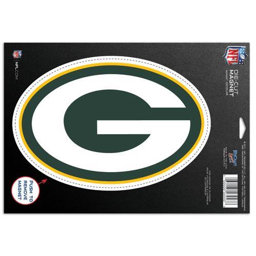 Green Bay Packers Super Bowl 45 Champions Die Cut Car Magnet 500x500