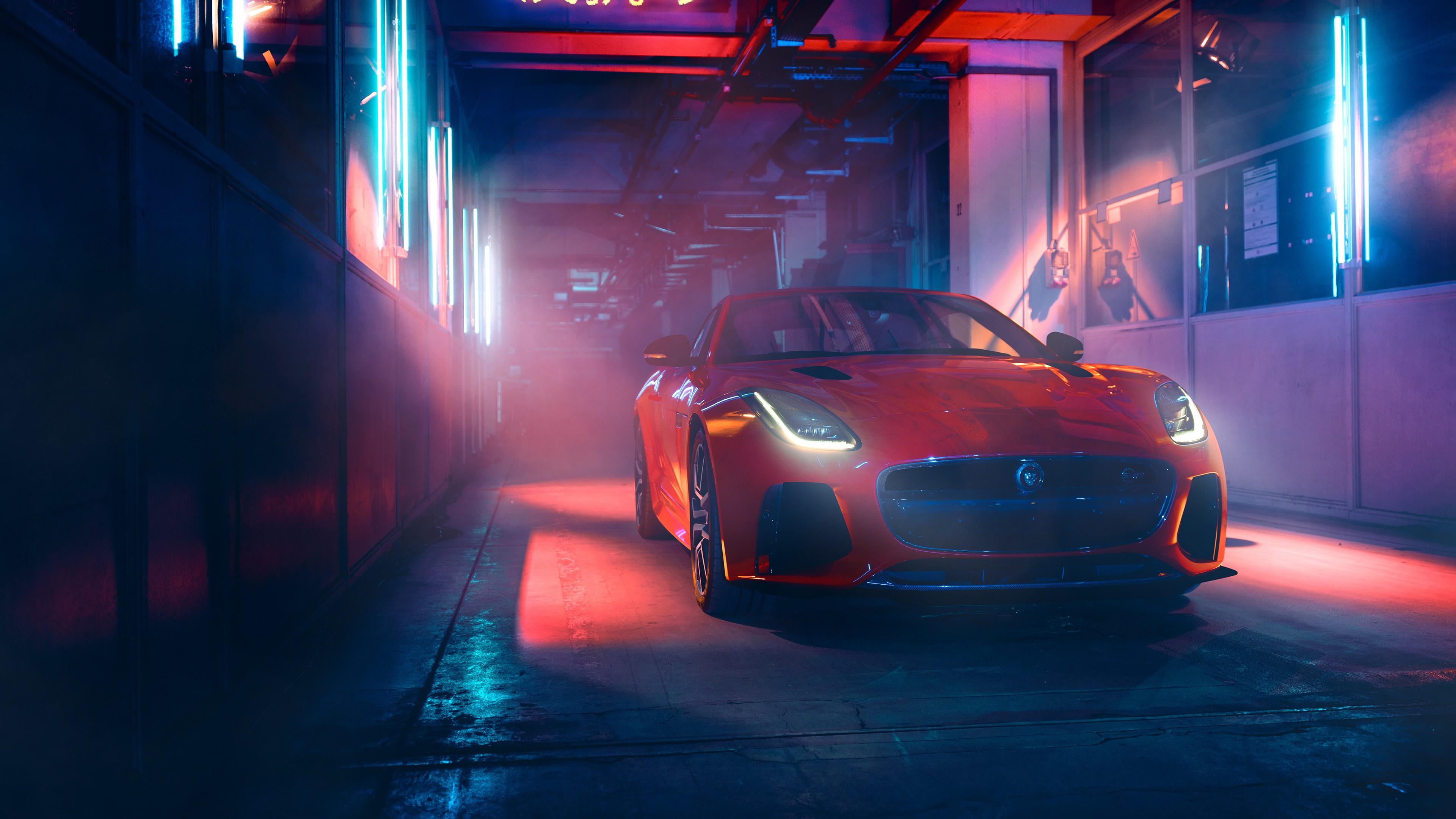 Wallpaper Jaguar F Type 2019 Cars luxury cars 4K Cars Bikes 3840x2160