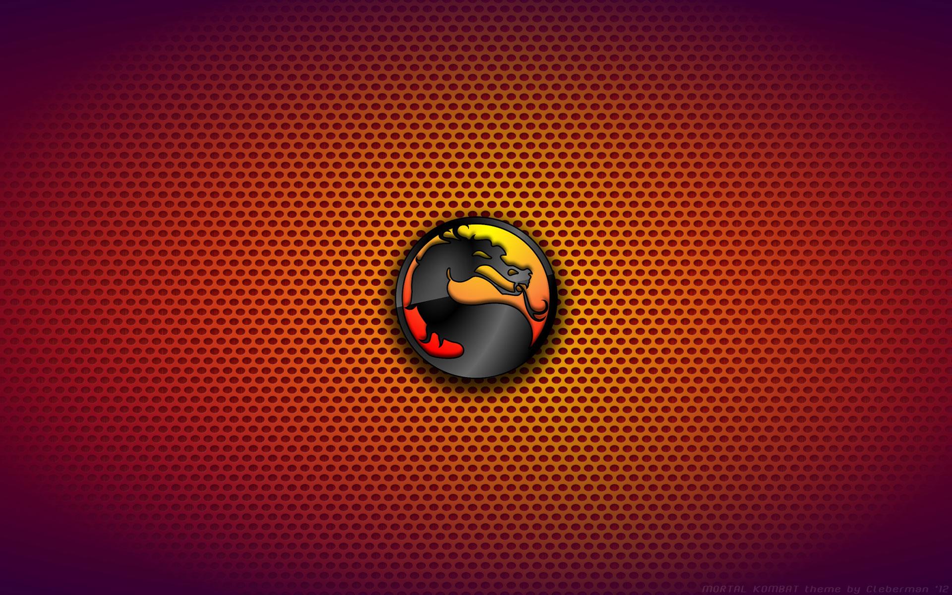 Wallpaper Mortal Kombat Logo Immagini 1920x1200