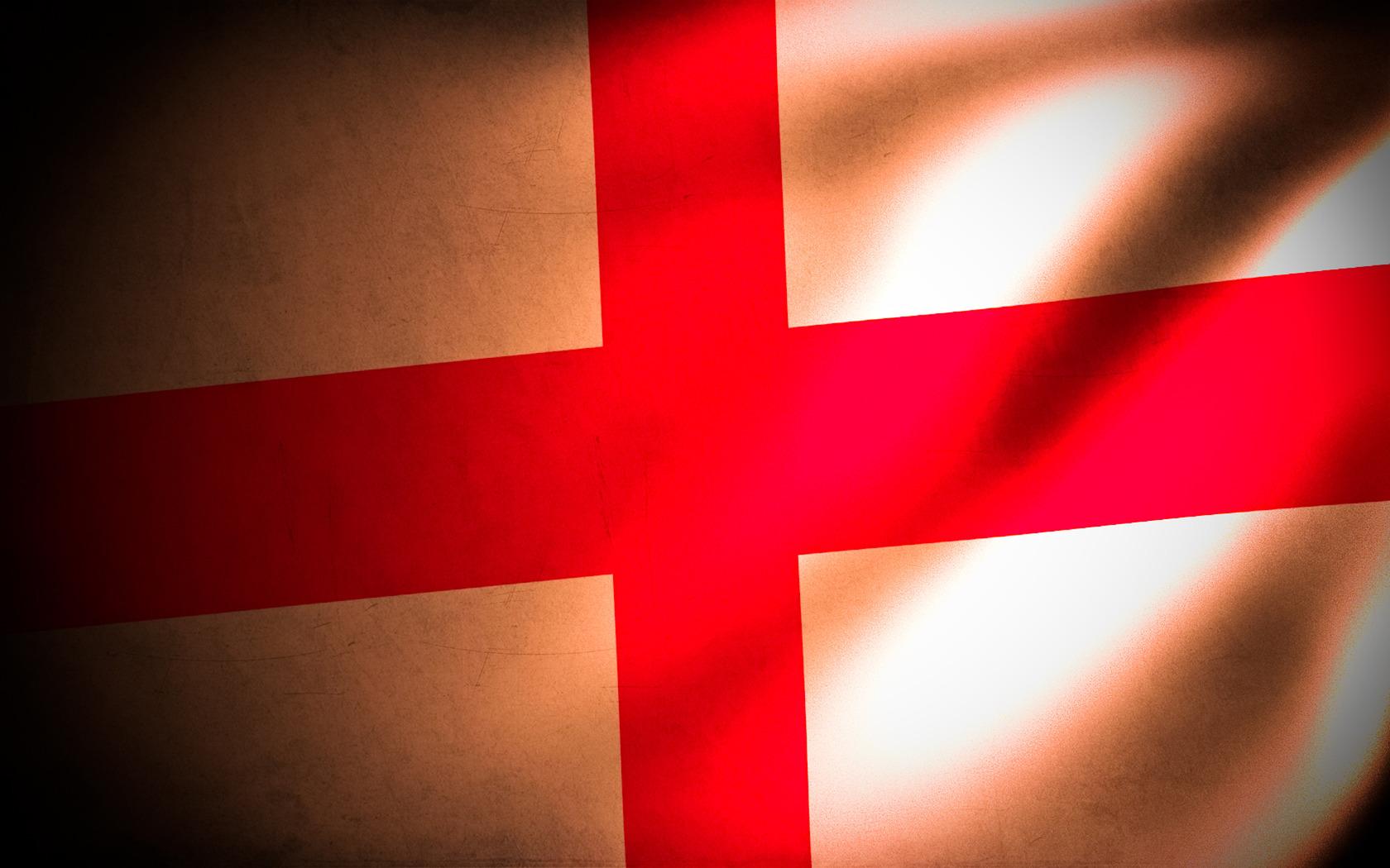 Flag of England wallpaper 13825 1680x1050