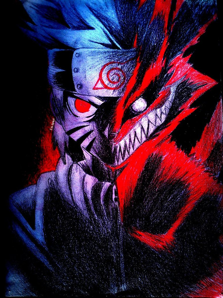 Free Download Best Wallpaper 2012 Naruto And Nine Tailed Fox By