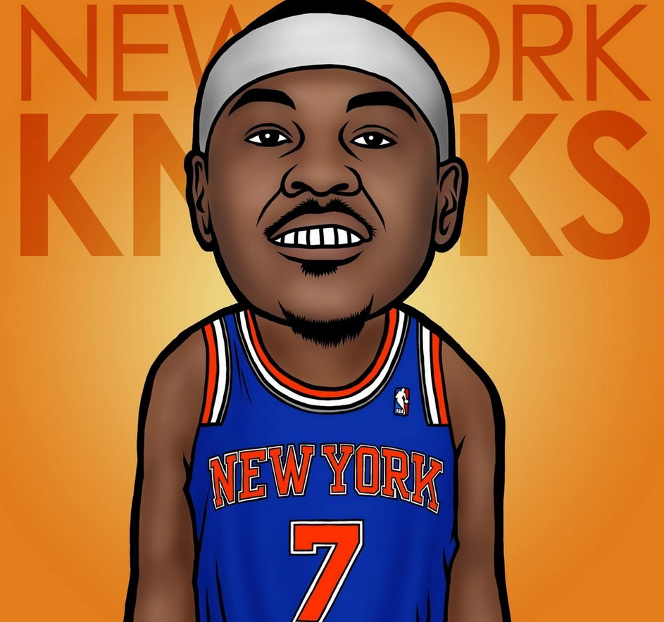 NBA Cartoon Wallpaper - WallpaperSafari
