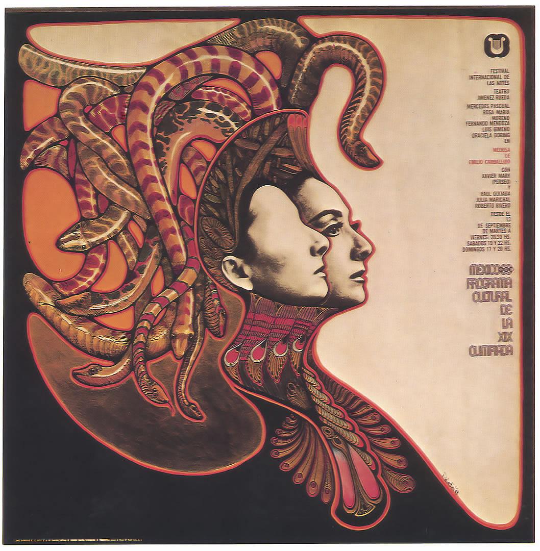 Free Download Mexico International Arts Festival Vintage